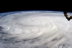 Super Typhoon Haiyan over the Philippines on November 2013 as imaged from Earth orbit by NASA Astronaut Karen Nyberg aboard the Internati. Space Photos, Space Images, Nature Images, Hiroshima, Nasa, Les Philippines, Vietnam, International Space Station, To Infinity And Beyond