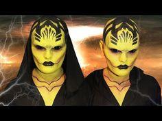 D'Vorah - Mortal Kombat X - Makeup Tutorial! - YouTube