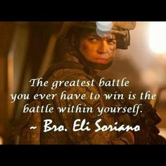 The greatest battle you ever have to win is the battle within yourself. Bible Encouragement, Exercise Quotes, Health Exercise, Sport Quotes, Faith In God, Quotable Quotes, True Words, Martial Arts, Christianity