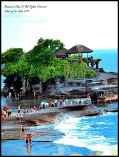 Pura Tanah Lot - the most photographed temple in Bali