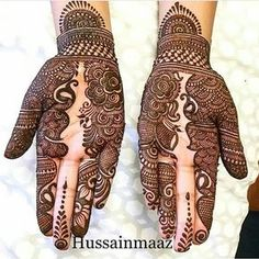 "5 Likes, 1 Comments - imehndi.com (@imehndicom) on Instagram: ""Unique henna designs by @hussainmaaz Follow artist #repost #mehndi #henna #hennatattoo #hennadesign…"""