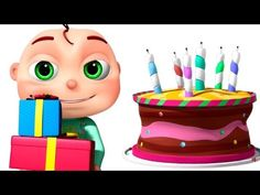 Happy Birthday Song And Many More | Nursery Rhymes Collection | 3D Anima...