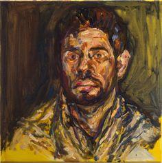 Extracomunitario 50x50cm / Oil on canvas