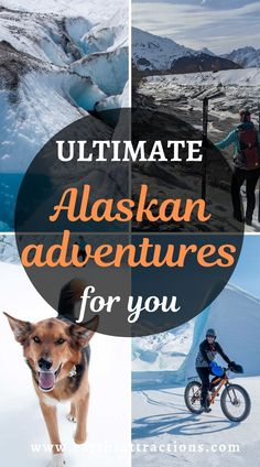The ultimate Alaskan adventures for you! Discover the best Alaskan activities and the top glaciers in Alaska from this article. Read it now and save this pin for later. #alaska #adventure #usa #usartavel #earthsattractions #thingstodo #alaskathingstodo #glacier #glaciers Usa Travel Guide, Travel Usa, Travel Guides, Travel Tips, Alaska Cruise Tips, Alaska Travel, Travel Advise, Travel Articles, Living In Alaska