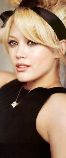 Hilary Duff - ribbons