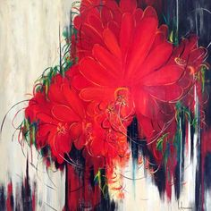 Les oeuvres de ... Luce Lamoureux - Galerie d'art Richelieu Galerie D'art, Les Oeuvres, Paintings, Flowers, Brogue Shoe, How To Paint, Radiation Exposure, Artist, Paint