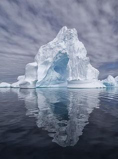 Iceberg refleciton in the Antarctica..... This place looks so miserable and beautiful at the same time.