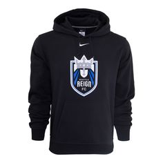 e4be22a1d3a Order the Men s Nike Seattle Reign FC Fleece Hoody - Black today!