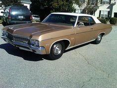 1970 Chevrolet Impala #chevroletimpala1970