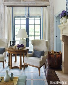 It only takes a small change to jazz up your curtains — a tailor can add instant, high-impact graphic interest with trim. Samuel & Sons' selection of borders, tapes, and trims includes ombré fringe and velvet ribbons.