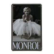 Cuadro de metal impreso vintage MONROE 20x30-