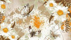 Hd Desktop, Hd Wallpaper, Floral Backgrounds, Painting, Art, Wallpaper In Hd, Art Background, Wallpaper Images Hd, Painting Art