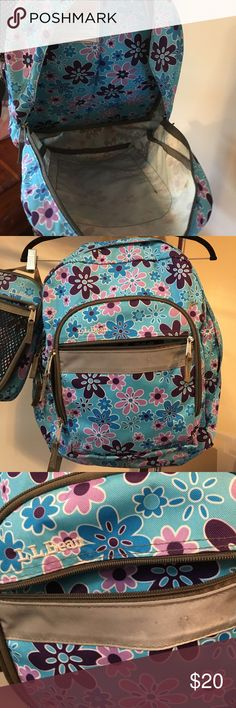 LL Bean Backpack AND lunch box - used 2 years LL Bean Backpack AND lunch box - used 2 years L.L. Bean Bags