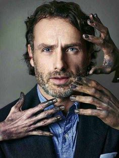 Andrew Lincoln - GQ photoshoot... I love this photoshoot