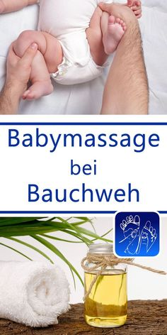 Babymassage bei Babykoliken und Bauchweh