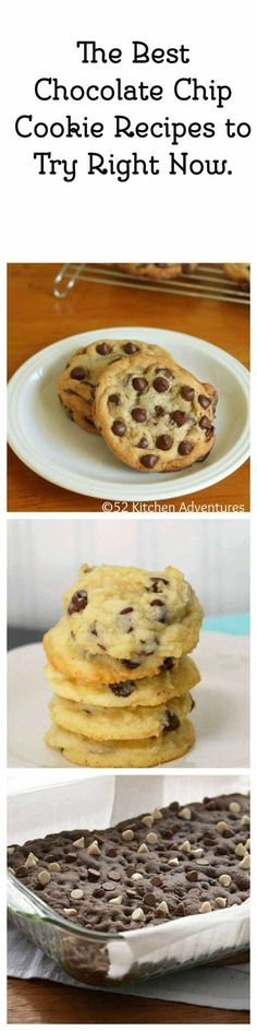 The Best Chocolate Chip Cookie Recipes to Try Right Now