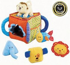 BESTSELLER! Soft Sorting Pals Toy $13.95