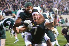 We'll never forget the game winning Hail Mary pass against Wisconsin in 2011.