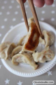 Ciloubidouille » Faire des jiaozi chinois (gyoza japonais)