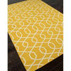 Jaipur Urban Bungalow Sabrine Flat Weave Geometric Pattern Wool Handmade Rug - RUG102680