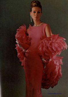 Balenciaga Evening Gown, 1965