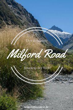 Nur eine einzige Straße führt von Te Anau zum Milford Sound: die Milford Road, eine 120 km lange Sackgasse. Für uns der schönste Roadtrip der Welt.   Neuseeland Roadtrip Tipps auf deutsch