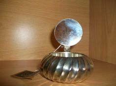 SALE, 50% off for limited period, Hand Crafted Vintage Snuff Box, Silver or Silver Plated, Rare, Excellent Condition