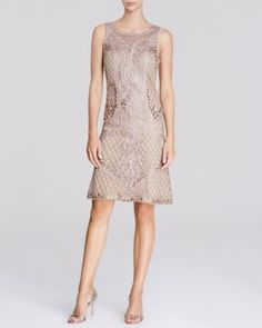 Sue Wong Dress - Cutout Back Lace | Bloomingdale's