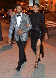 Black Couples: Ciara and Russell Wilson1966 Magazine