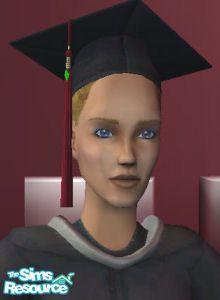 Morague's Female Grad caps