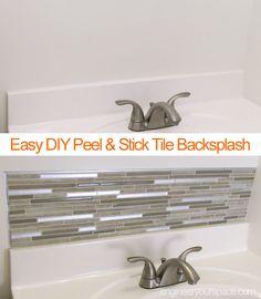 DIY Small bathroom r