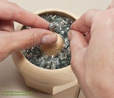 Using a Bead Spinner: Use a Bead Spinner to String Beads Quickly