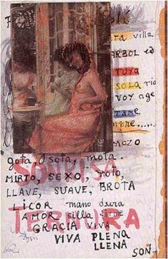 A page from Frida Kahlo's diary