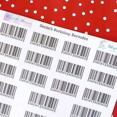 We all know that Santa's elves are busy in the workshop right now so sometimes things slip through the cracks.  The gorgeous Kate of @confettimumma and I have teamed up to bring you this fun Christmas printable to help keep the magic alive.  To download your own printable barcodes head to my Facebook page.  #merrychristmas #christmasgift #Christmas #santasworkshop #freeprintable #freeprintables #collaboration #aussiechristmas #whitechristmas #averymerrychristmas Aussie Christmas, Christmas 2016, White Christmas, Merry Christmas, Christmas Gifts, Handmade Gift Tags, Greeting Cards Handmade, Santas Workshop, Jingle Bell