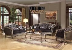 Luxury Upholstered Formal Living Room Furniture Traditional Sofa Beauteous Traditional Living Room Furniture Design Inspiration