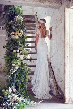 Anna Campbell Forever Entwined Neuste Spitze Hochzeitskleider ...