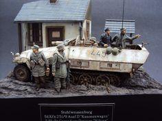 Sdkfz 251/9 kanonenwagen by Roger Hurkmans