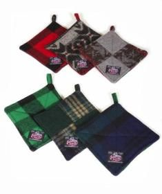 Made in the uSA, all wool Potholders -Johnson Woolen Mills $29.99