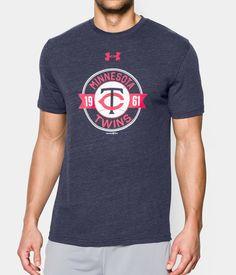 965a04643d Men s Minnesota Twins Charged Cotton® Tri-Blend T-Shirt