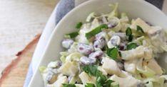 Sałatka śledziowa z porem, jajkiem i czerwoną fasolą Potato Salad, Potatoes, Ethnic Recipes, Food, Potato, Essen, Meals, Yemek, Eten