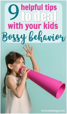 Dealing with a bossy kid? Help your bossy child learn how to use their assertiveness the right way. It will have them getting along better with friends and reduce conflict in the home. #parentingtips #bossychild #strongwilled #parenting #child