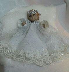 Baby Jesus, Dolls, Disney Princess, Disney Characters, Model, Kids Wear, Short Dresses, Christmas Angels, Christmas Projects
