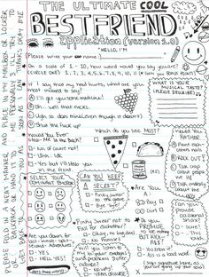 The best friend contract my best friend 3 pinterest lunalize youredelirious youthfairy this is soooo cute haha someone please fill it up and submit it to me omg i promise to be nothing altavistaventures Image collections