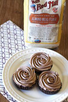 gluten free vegan mocha mousse tarts via @sarahbakes @bobsredmill