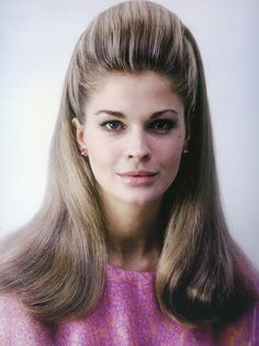 18-year old Candice Bergen in one of her first photo sittings,  photo by Milton Greene, New York City, 1966