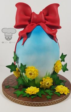 Easter Egg Cake by Geek Cake