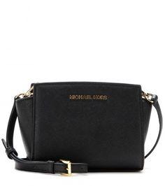 Michael Kors Michael by Selma Mini Messenger Leather Shoulder Bag on shopstyle.co.uk