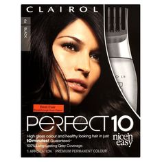 Clairol Nice 'n' Easy Perfect 10 Black 2 ** Find out more about the great product at the image link.