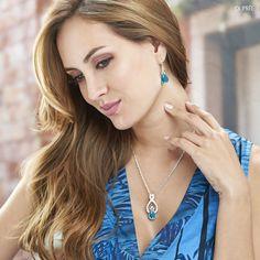 Accesorios con piedras azules. Tendencia joyería. Dupree Drop Earrings, Fashion, Blue Stones, Vibrant Hair Colors, Blue Nails, Trends, Accessories, Moda, Fashion Styles