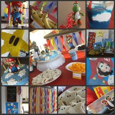 Mario Birthday Party Complete With Mario Themed Food And Games | A Spotted Pony
